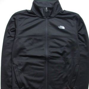Men The North Face 100 Cinder Full-zip Black